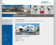 Bild Webseite ARMANT Köln
