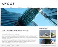 Bild Webseite ARGOS Projektmanagement München