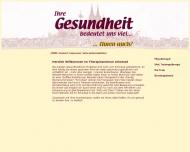Bild Webseite ARKOMED Medizinische Trainingstherapie und Physiotherapie Köln