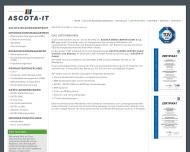 Website ASCOTA-Büro-Center