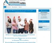 Bild Webseite Assicuranza Agentur für Finanz- & Wirtschaftberatung Buch