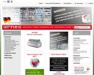 Bild Webseite ARNEG Deutschland Köln