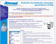 Bild Webseite Steremat-CompART Berlin