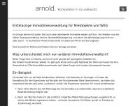 Bild arnold & co. Hausverwaltung & Immobilien GmbH