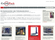 Bild Webseite CombiPack Systemtechnik Wuppertal