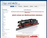 Bild Züge und mehr Modelleisenbahnvertriebsgesellschaft mbH
