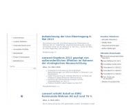 Bild Webseite conwert Carina Invest Berlin
