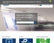 Bild Webseite Contipark Parkgarage Marienplatz München Berlin