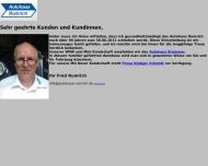 Bild Webseite Autohaus Rumrich Hamburg