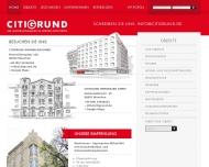 Bild Webseite CITIGRUND Immobilien München