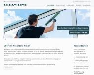 Bild Webseite Clean-Line Industrie -Dienstleistungen Nürnberg