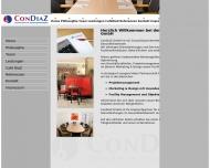 Bild Webseite ConDiaZ Bad Mergentheim
