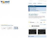 Bild Webseite comevis Köln