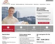 Bild Webseite Compador Dienstleistung Berlin