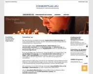 Website Consortium Leu