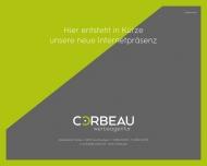 Website CORBEAU Werbeagentur