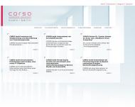Bild Webseite CORSO Rechtsanwaltsgesellschaft Köln