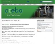 Bild Webseite atebo Berlin