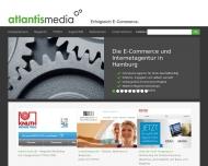 atlantis media Magento und TYPO3 Internetagentur in Hamburg