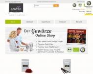 Bild Webseite Azafran UG Tornesch