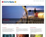 Bild Webseite SDV Projects Hamburg