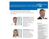 Website Augenklinik OWL