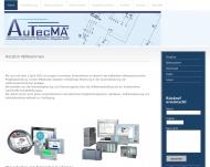 Bild Webseite AuTecMA Rösrath