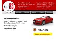 Bild Webseite Auto 23 Dresden