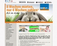 Bild Webseite Secur Sylt Sylt-Ost