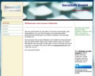 Bild Webseite Secosoft Magdeburg