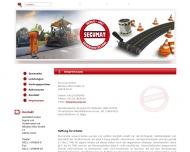 Website SECUMAT Fabrikations- und Vertriebsgesellschaft