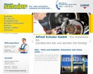 Bild Schuler Alfred GmbH Autoteilehandel