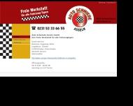 Bild Webseite Auto Schmiede Asseln Dortmund