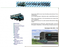 Website Weber Betonpumpen Bayern