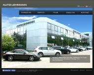 Bild Webseite Auto Lehmann Hamburg