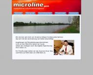 Bild Webseite microline Magdeburg
