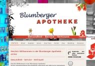 Bild Webseite Blumberger-Apotheke Dr. Tawfiq Al Shahrouri Berlin