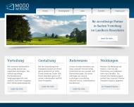 Bild Webseite MODO Werbung Kolbermoor