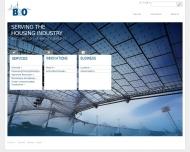 Bild Webseite B & O Gebäudetechnik Berlin