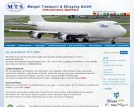 Bild Webseite MTS Mangal Transport & Shipping Hamburg