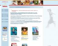 Bild Webseite Rehabilitations- und Gesundheitssportverein leichter leben Leipzig