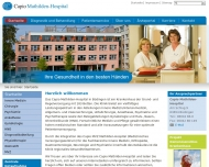 Bild Webseite REHAMED Büdingen am Capio Mathilden-Hospital Büdingen