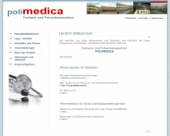 Bild Webseite agapia Medical Office Berlin Hamburg