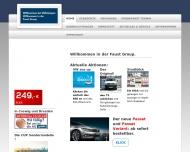 Bild Webseite Autohaus Faust Dresden