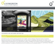 Bild Webseite Olivingreen München