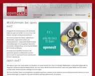 Bild Webseite open exit Düsseldorf