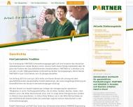 Website PARTNER Personaldienste