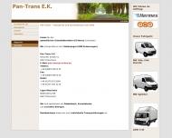 Bild Webseite Pan-Trans Reischach