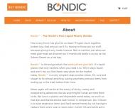 Bild Webseite bondic Köln