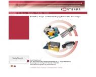 Bild Webseite KONTENDA Magdeburg